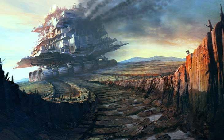 Artwork de Mortal Engines
