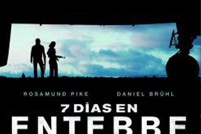 Cartel '7 días en Entebbe'