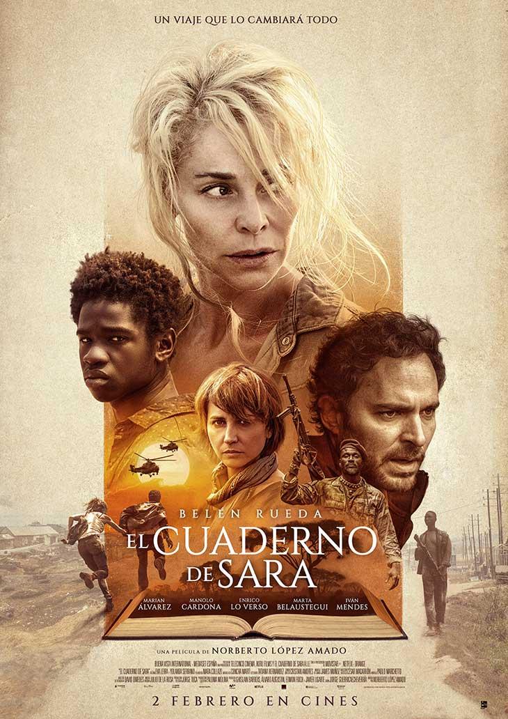 Poster de el cuaderno de Sara