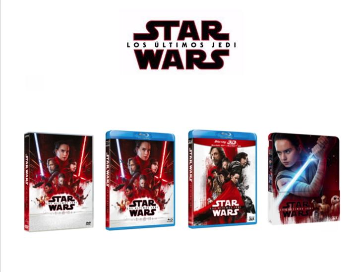 Carátulas de 'Star Wars: los últimos Jedi'