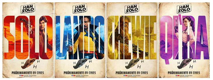 Pósteres de Han Solo