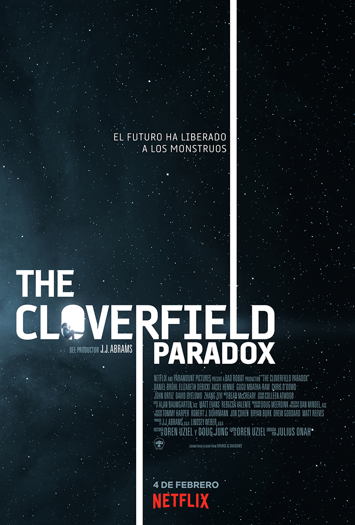 Póster de The Cloverfield Paradox