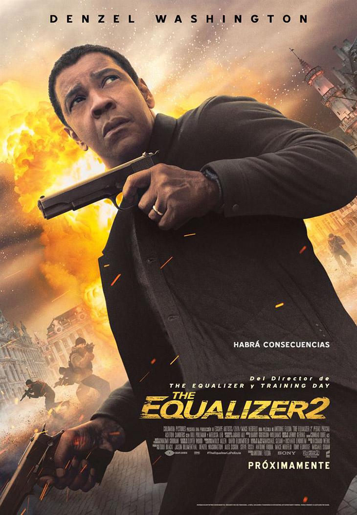 Póster de The Equalizer 2