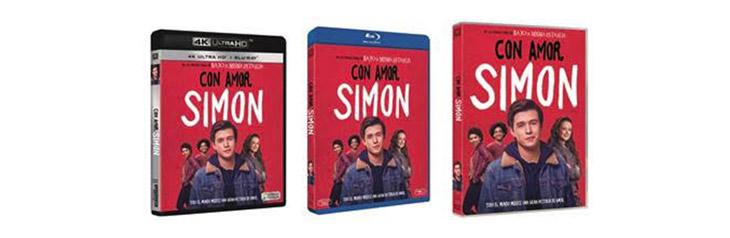 Portadas de Con amor, Simon