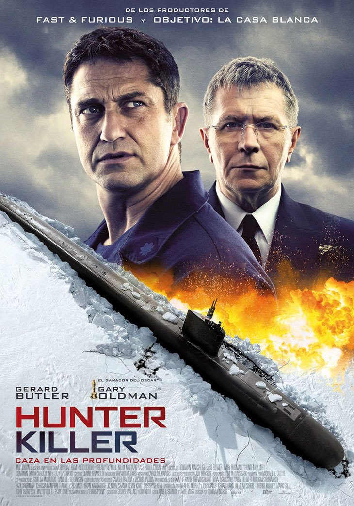 Póster de Hunter Killer