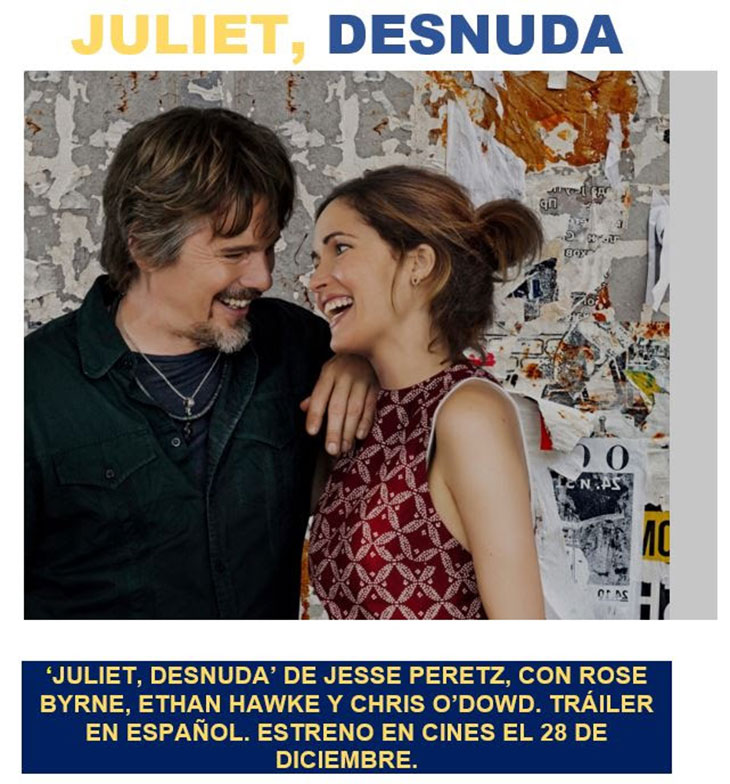El 28 De Diciembre Llega Juliet Desnuda Noche De Cine