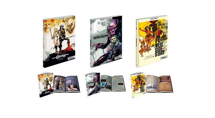 Nuevas ediciones de Collector`s cut de Conan, Depredador y West Side Story