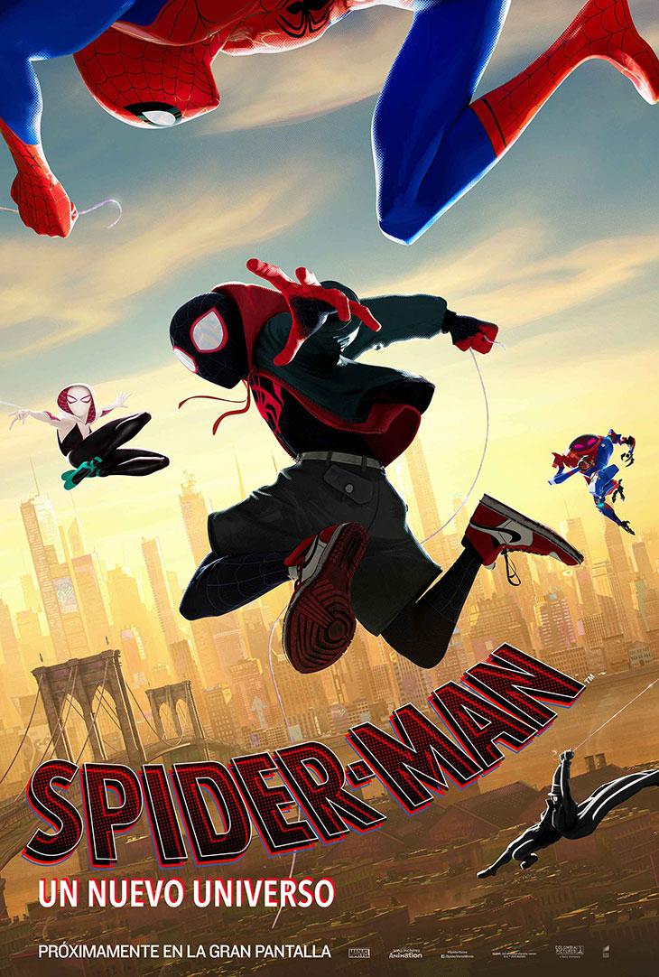 Póster de Spider-Man. Un nuevo universo