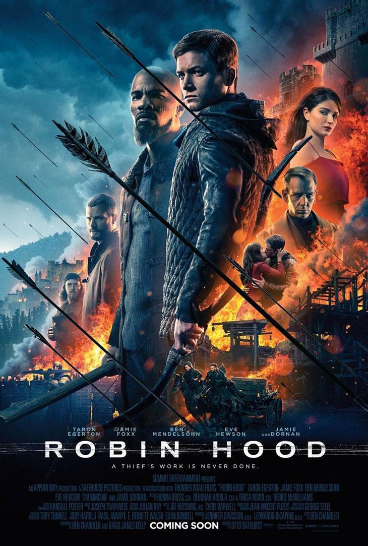 Póster de Robin Hood 2018