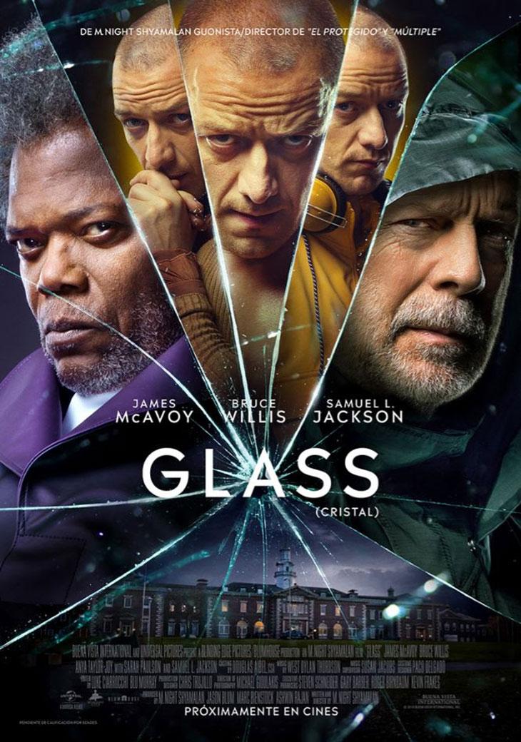 Póster de Glass interior