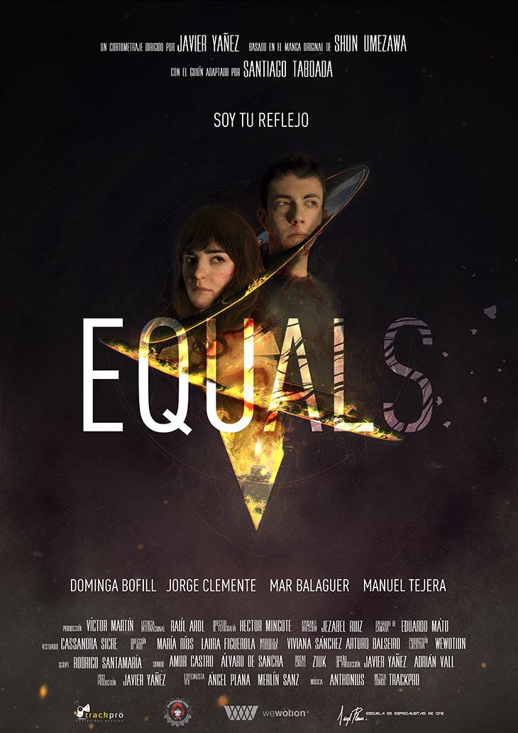 Póster de Equals, de Javier Yañez