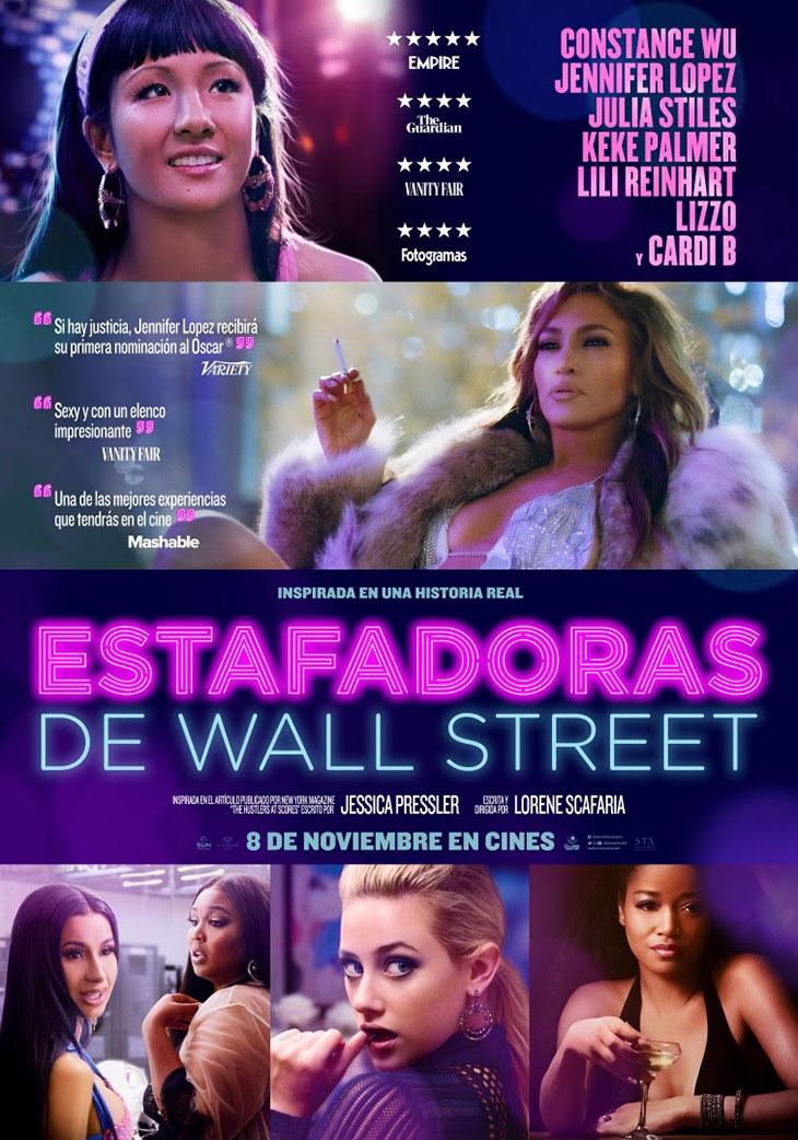 Estafadoras de Wall Street', estrena nuevo póster  Noche de Cine