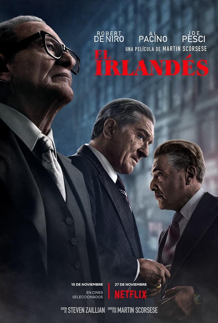 Póster de El Irlandés