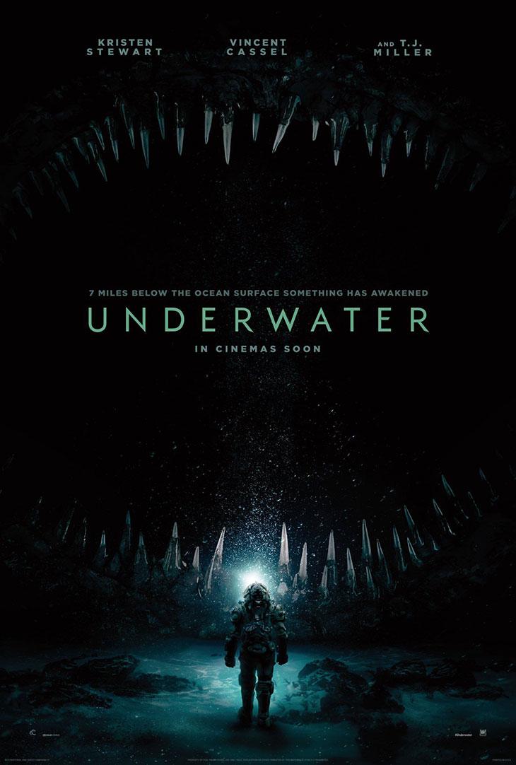Póster de Underwater