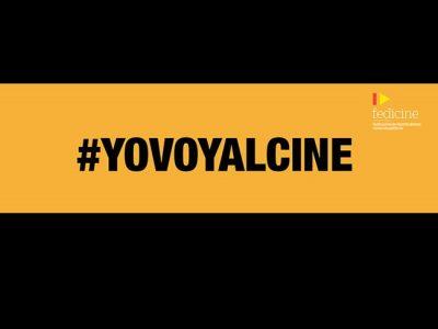 Publicidad de la campaña #YoVoyAlCine destacada